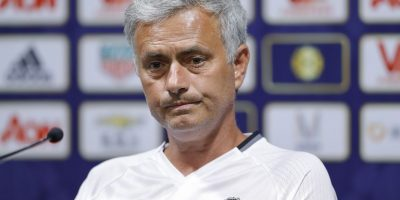La decisión de José Mourinho fue cuestionada por muchos, pero salió a explicarla de manera notable Foto:Getty Images