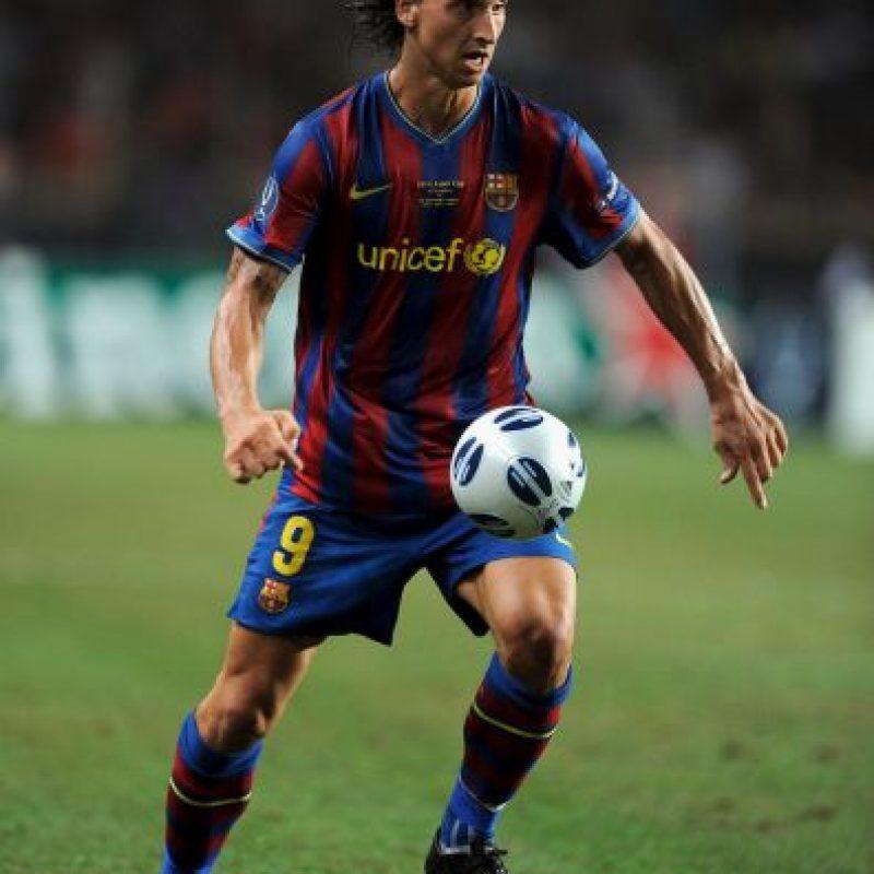 9. Zlatan Ibrahimovic. 71 millones de euros pagó Barcelona al Inter en 2009 Foto:Getty Images