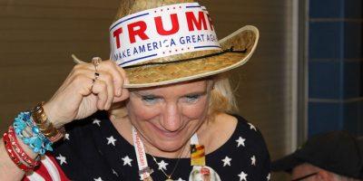 Para que no quedara duda de su apoyo, los seguidores de Trump marcaron sus sombreros con grandes letras. Foto:Publimetro