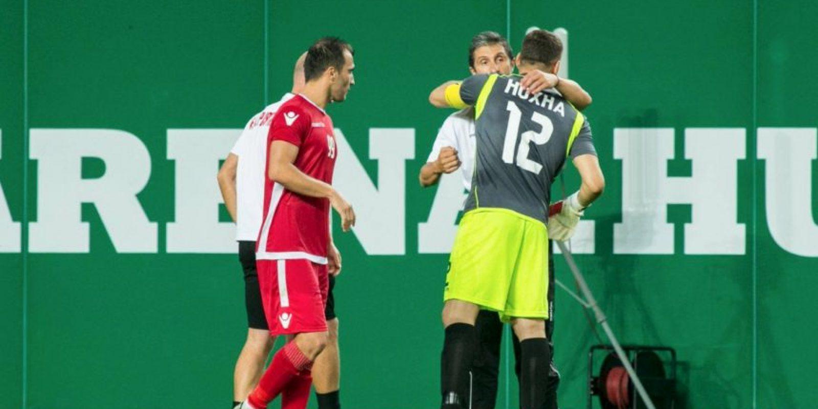 Gracias a su gran actuación, Partizani pudo avanzar otra ronda más en la fase clasificatoria Foto:Facebook Partizani