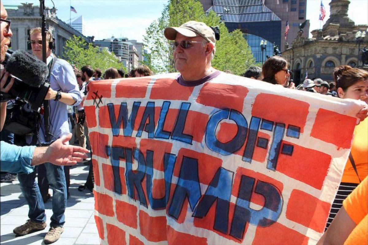 """""""La pared que quieren construir para mantenernos al margen, jamás será más fuerte que las paredes de nuestro corazón"""" Foto:Publimetro"""