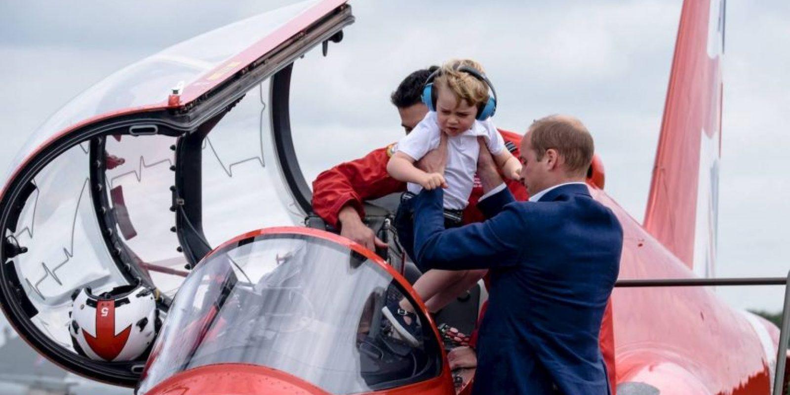 Su más reciente aparición pública fue en un espectáculo de la Fuerza Aérea Británica Foto:Royal.uk