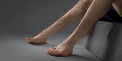 Es un prototipo de la evolución o transformación corporal que los humanos necesitaríamos experimentar para que no sufriéramos lesión alguna al momento de un choque. Foto:TAC