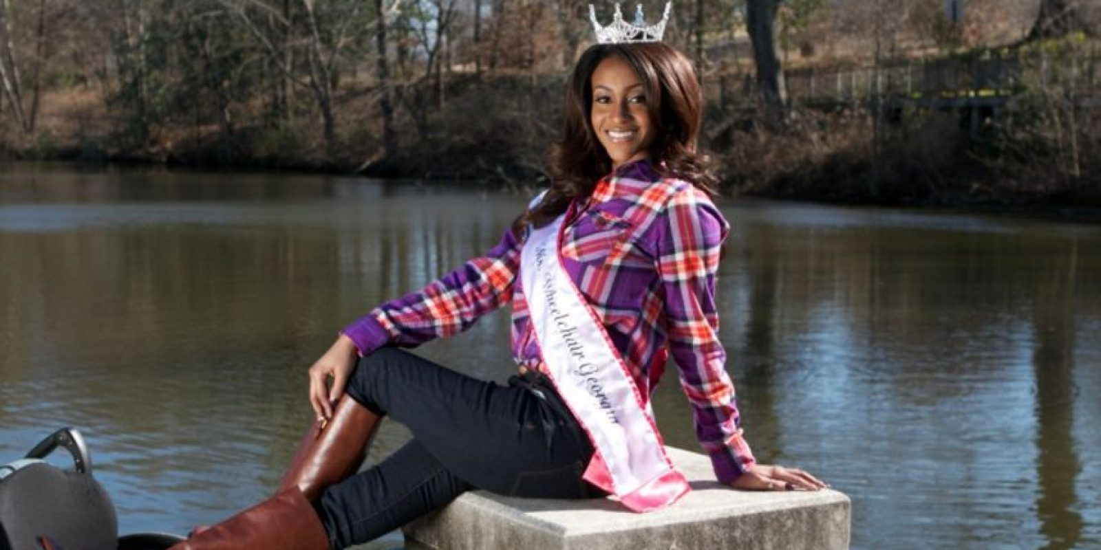 Leslie Irby fue Miss Wheelchair Georgia 2015. Foto: GoFundMe.