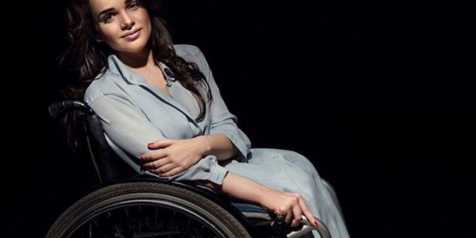 Alexandra Kutas es ucraniana y también hizo su debut en una Fashion Week de su país. Foto:Getty Images