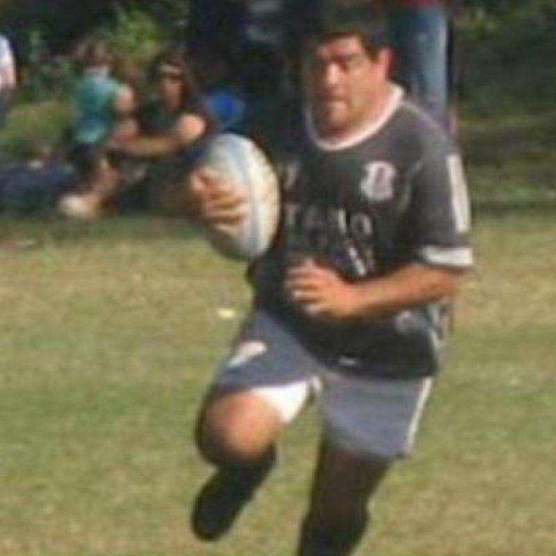 Daniel Contreras perdió parte del dedo meñique por una brutal agresión de un rival, en el Torneo Regional de Desarrollo de Rucumán Foto:Twitter URTrugby