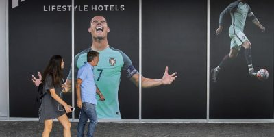 "El resort lleva por nombre ""Pestana CR7"" Foto: Getty Images"