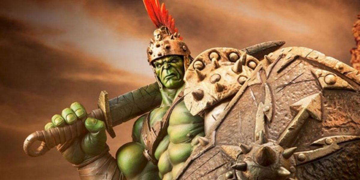 Revelan armadura que lucirá Hulk en Thor 3: Ragnarok