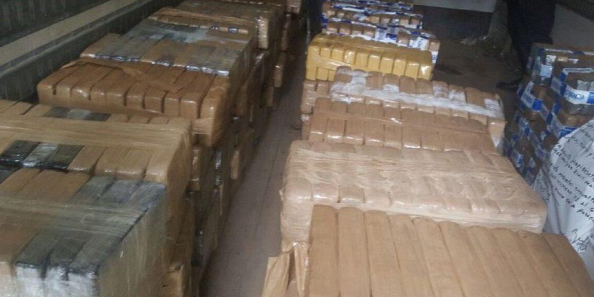 Decomiso histórico de cocaína valorada en casi $20 millones