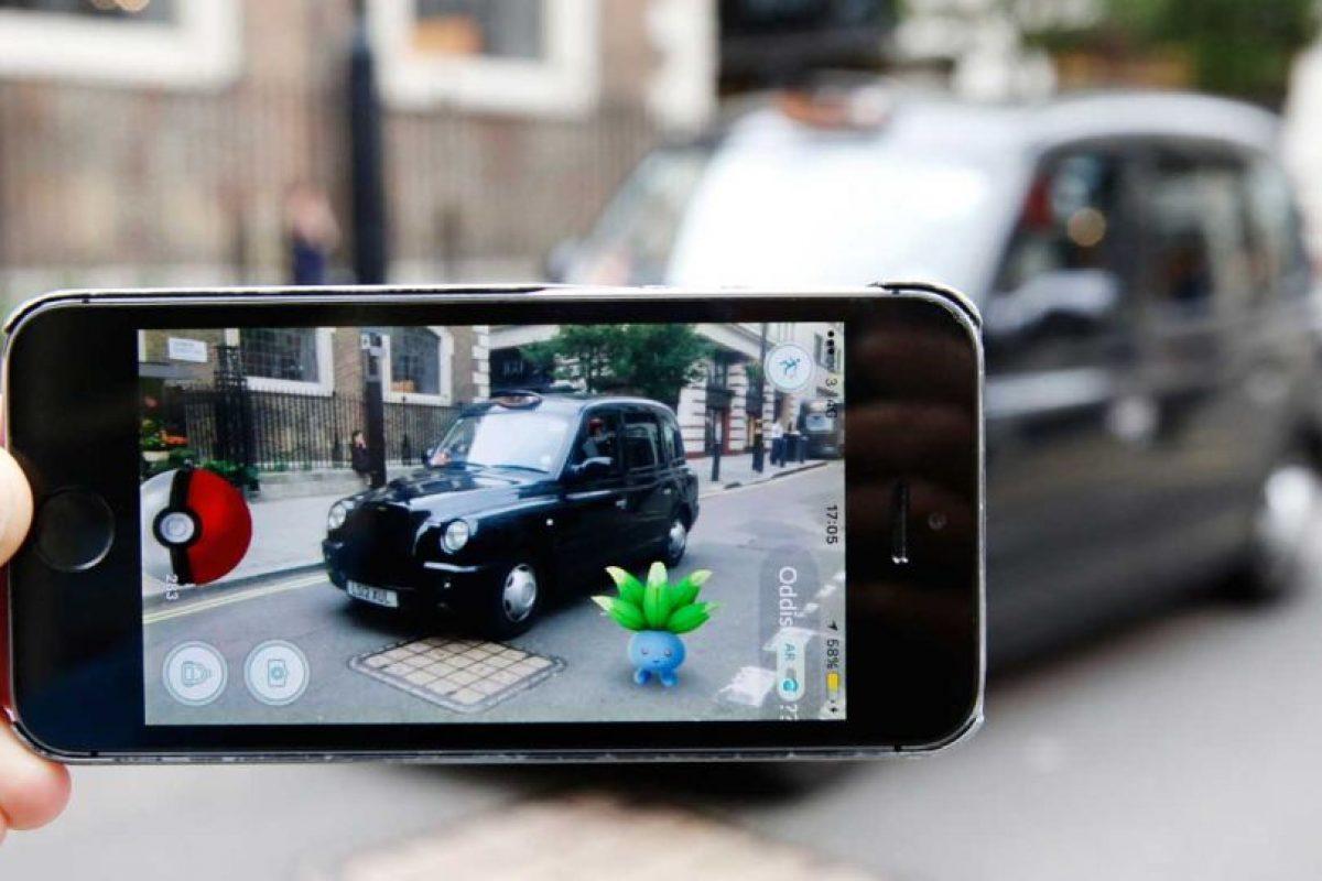 """""""Pokémon Go"""" en Inglaterra. Foto:Getty Images"""