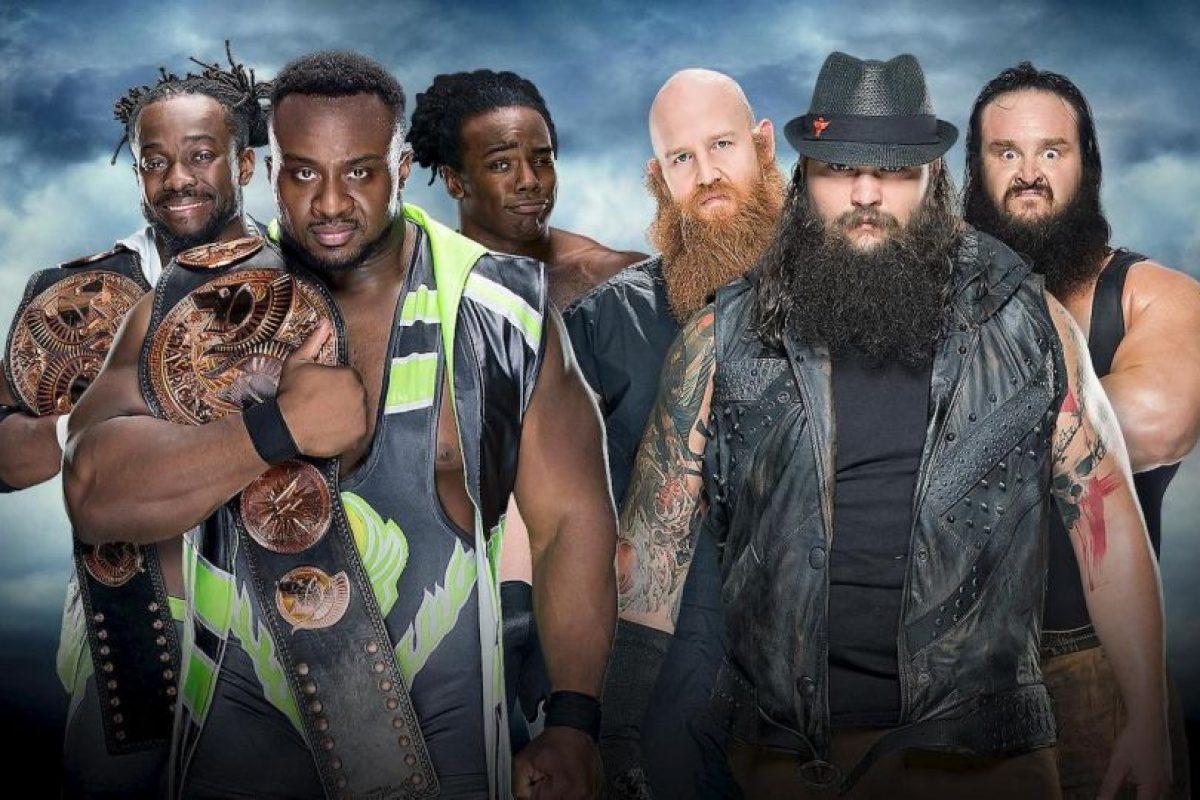 The Wyatt Family venció en una apretada pelea a The New Day