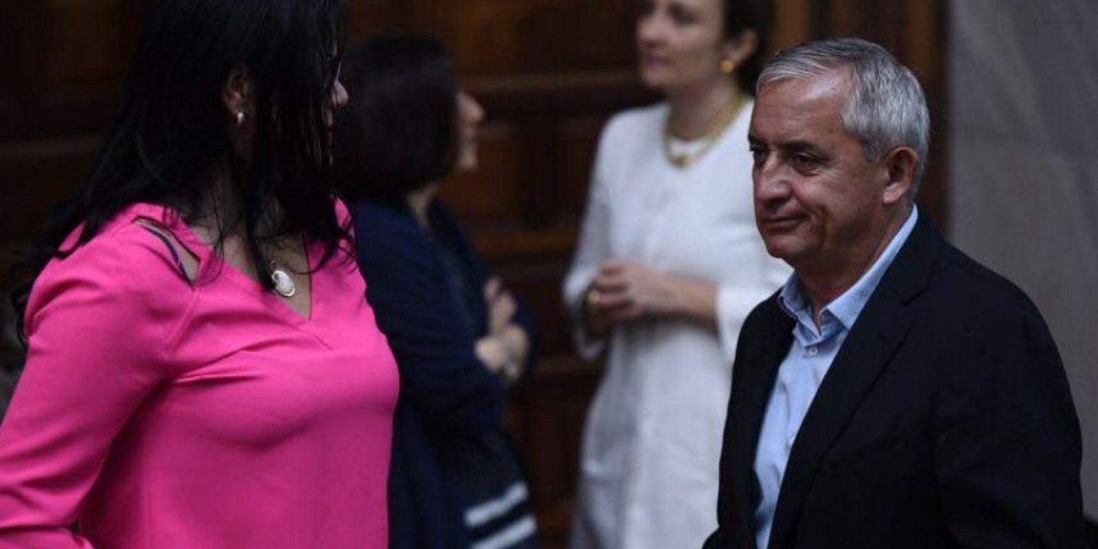 Otto Pérez expresidente se muestra molesto Foto:Publinews