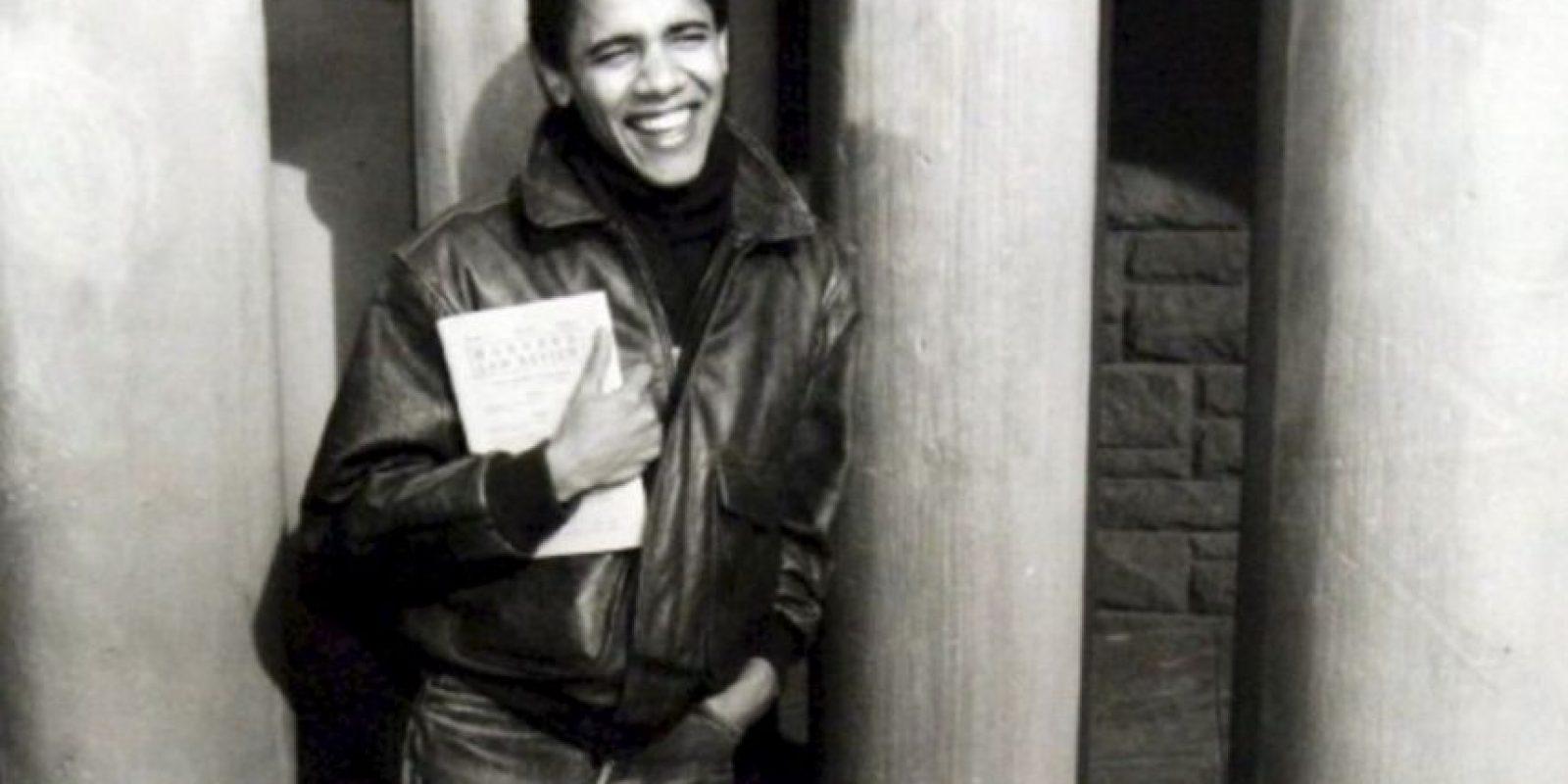 A finales de 1988 estudió Derecho en Harvard Foto:Facebook.com/BarackObama