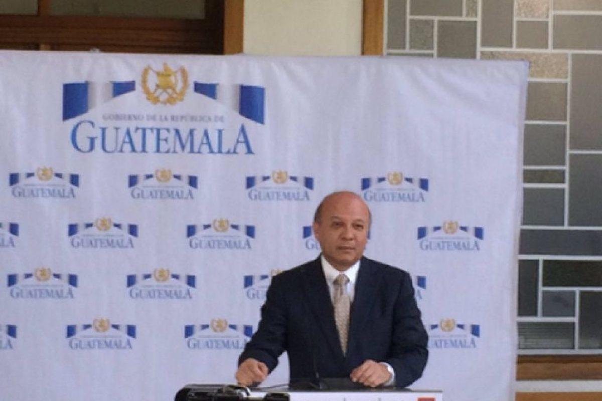 Ministro Chea Foto:Gobierno
