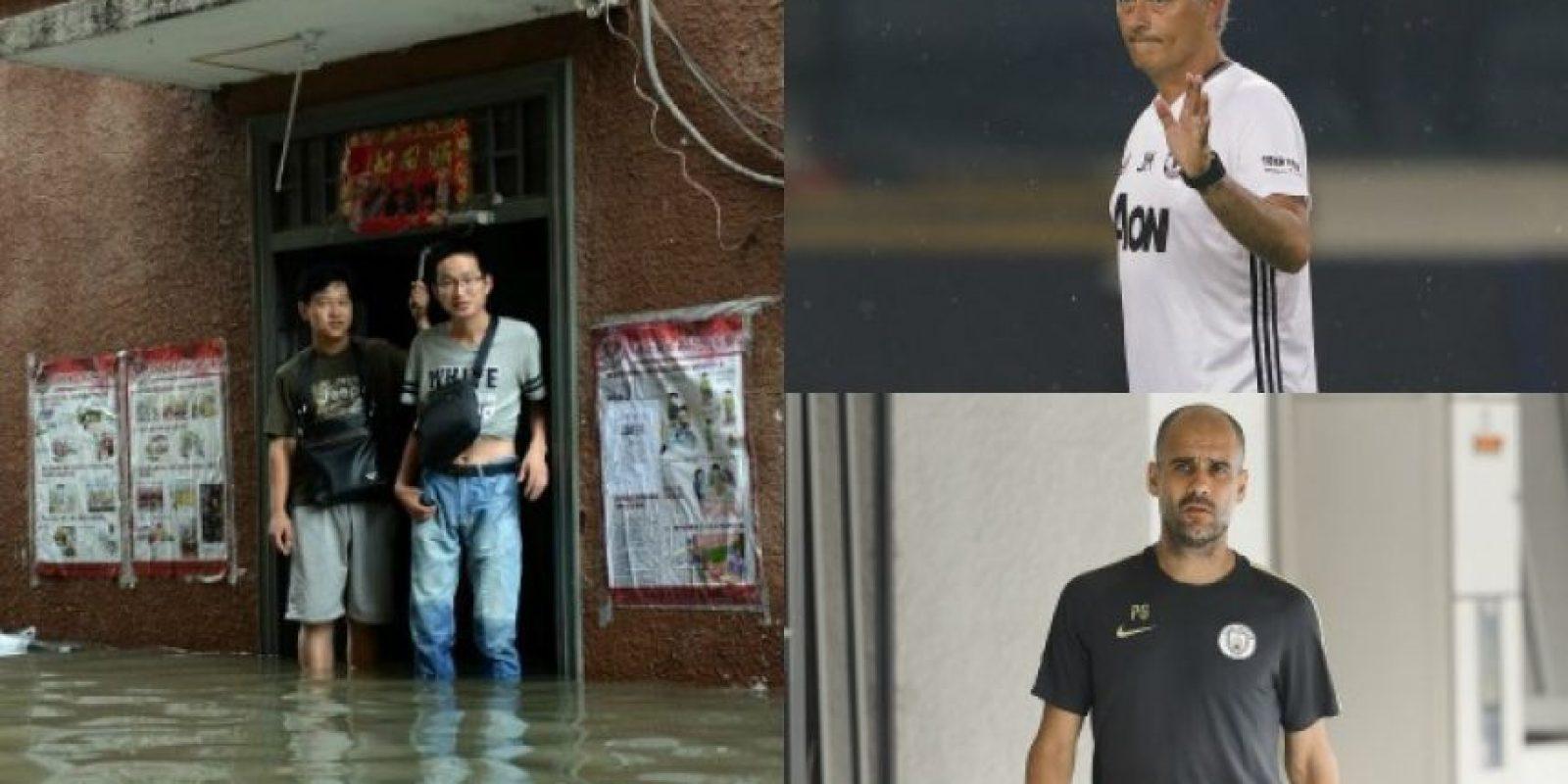 Las lluvias obligaron a suspender el primer clásico de Manchester