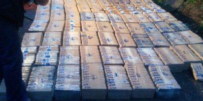 A esto asciende la incautación de cocaína en Huehuetenango