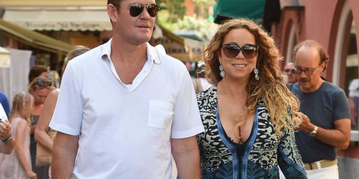 Fotos evidencian el ardiente amor entre Mariah Carey y su prometido
