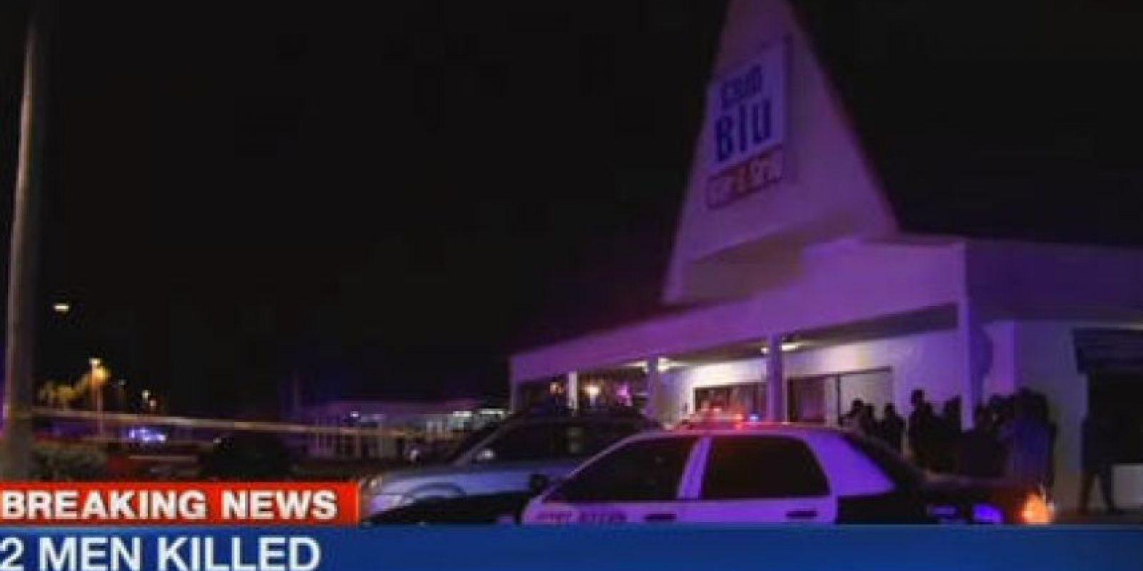 LA escena del tiroteo Foto:AP