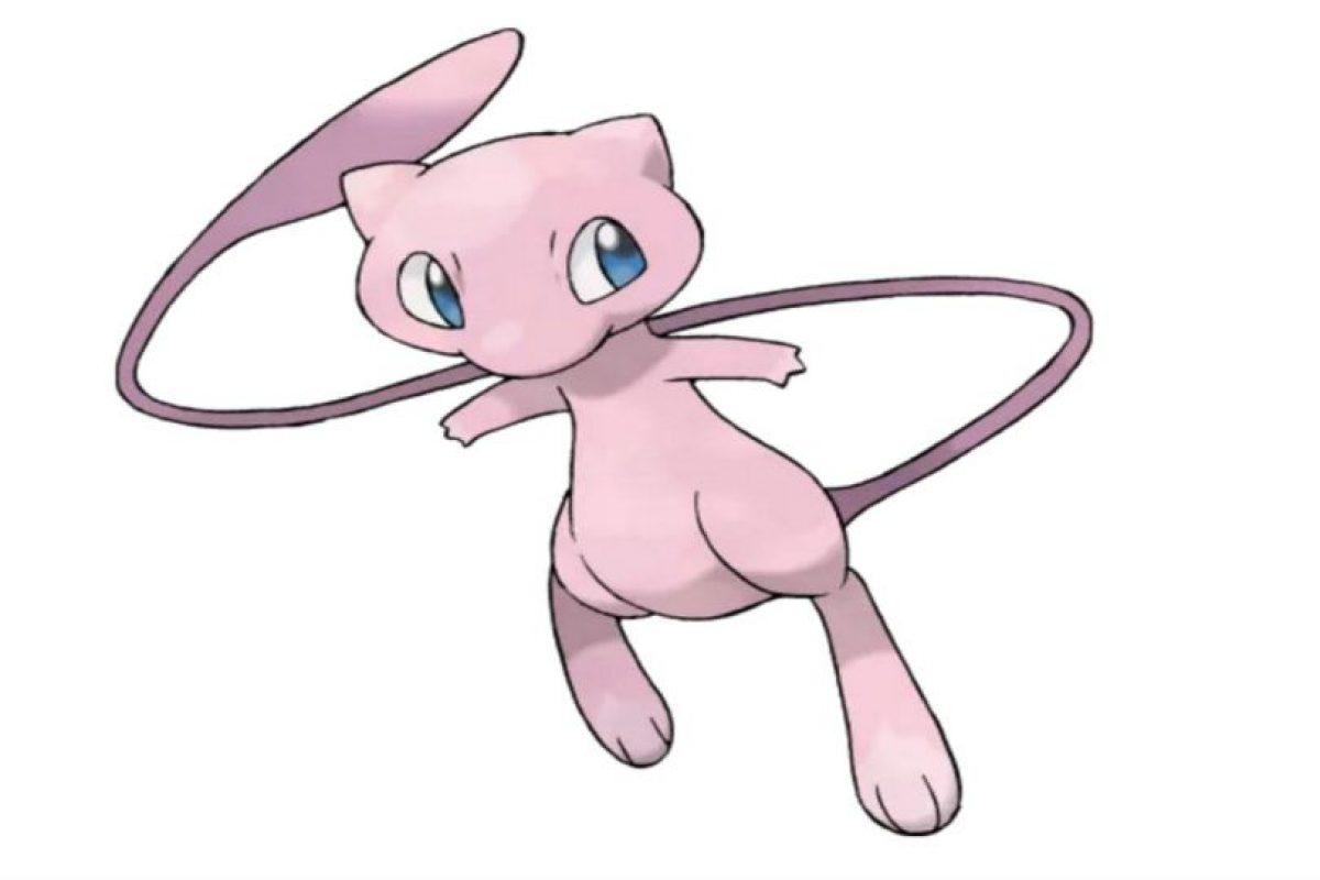 Mew sí es un pokémon legendario. Foto:Pokémon
