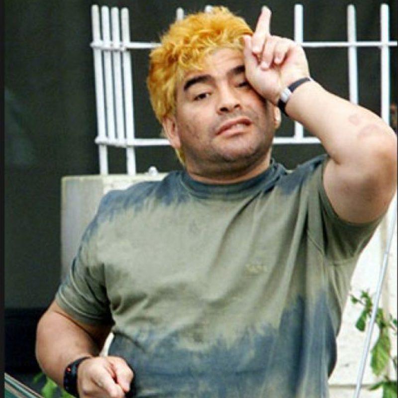Diego Maradona Foto:Twitter