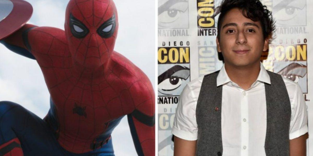 Actor de origen guatemalteco actuará en la nueva película de Spider-Man