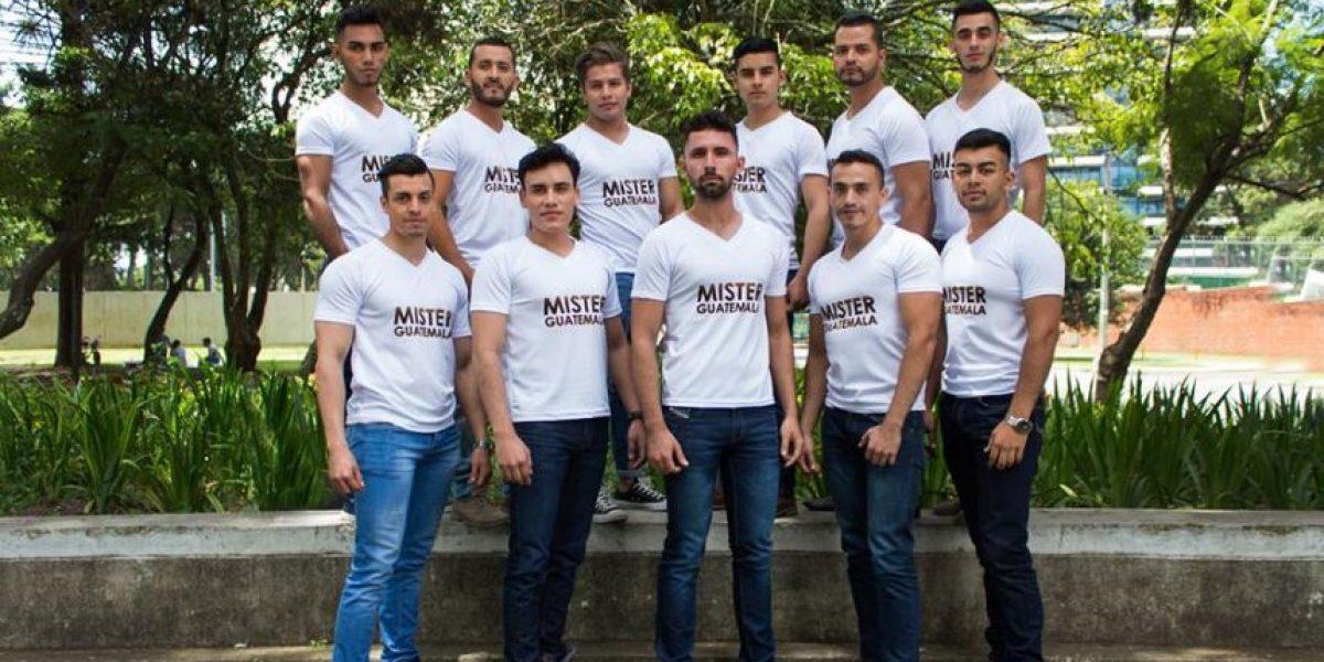 Ellos son los hombres más sexys que buscan ser Mister Guatemala