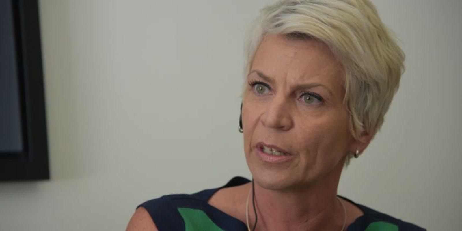 La vicepresidenta de APM, Susanne Marston, explica la disposición para realizar una nueva concesión. Foto:Wendy Morataya