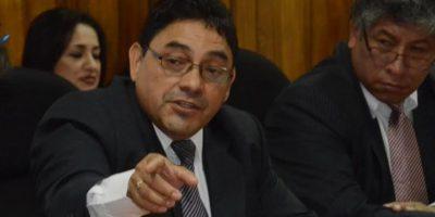 Nicolás García, director de Presidios participa en citación en el Congreso Foto:José Castro