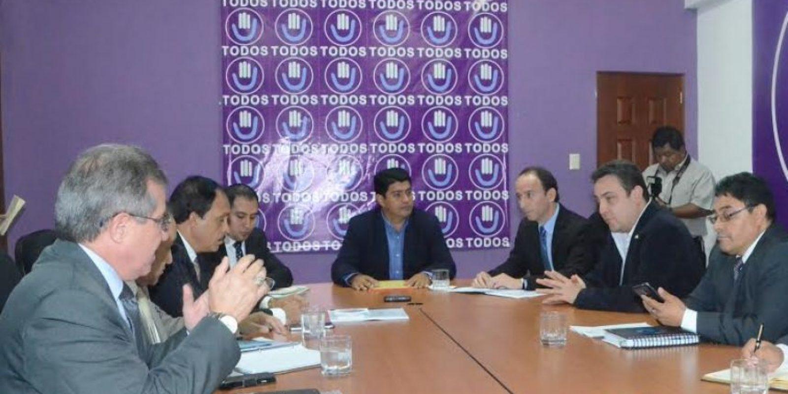 En la citación al Congreso también participa el procurador Jorge De León Foto:José Castro