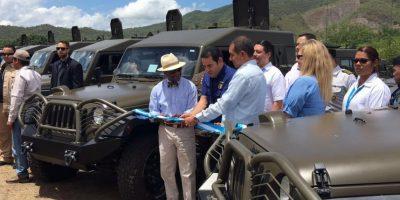 Estados Unidos dona vehículos y equipo para Fuerza de Tarea Chortí