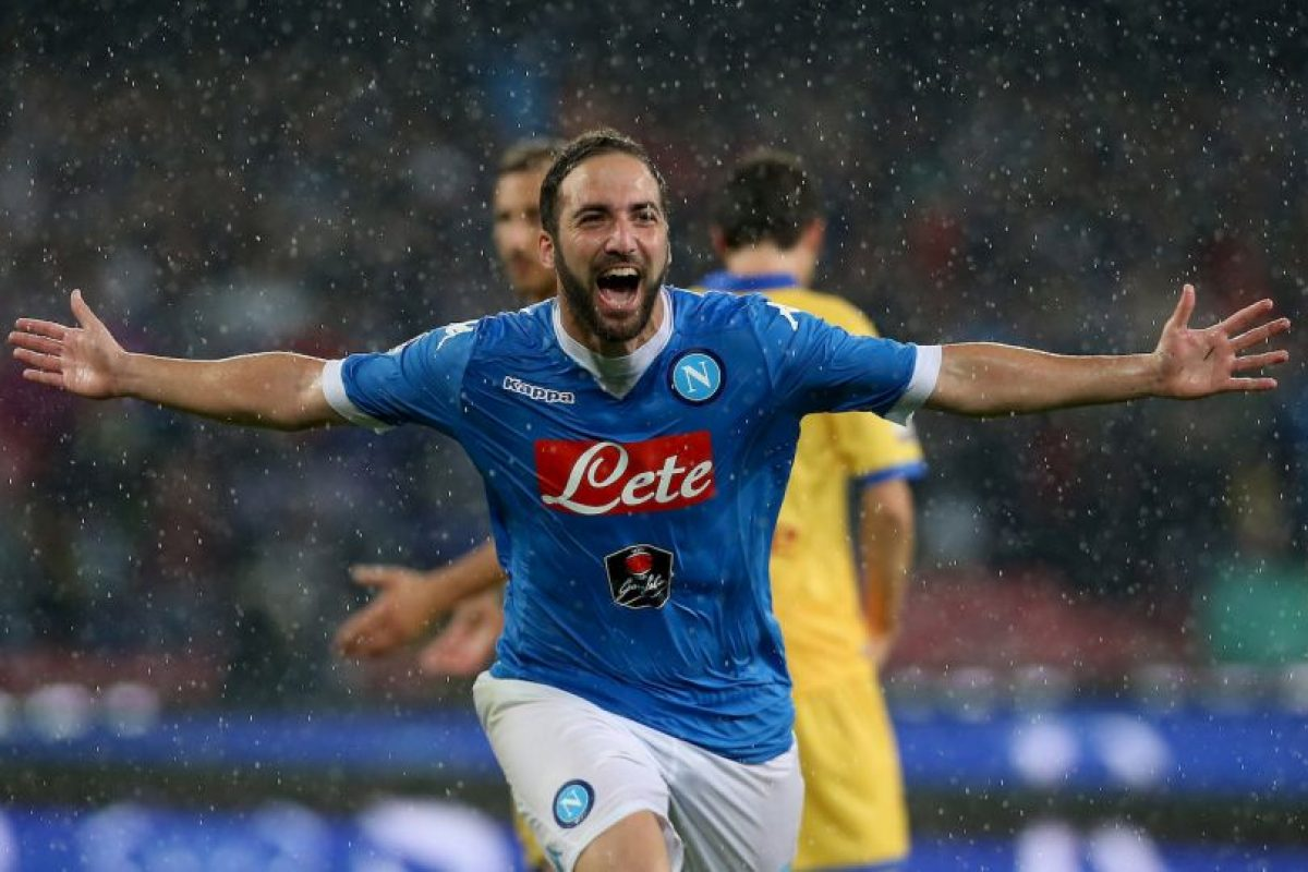 Gazzetta dello Sport y Sky Sports anunciaron el fichaje como oficial luego que Giuseppe Marotta depositara el contrato del argentino en las oficinas de la Serie A Foto:Getty Images