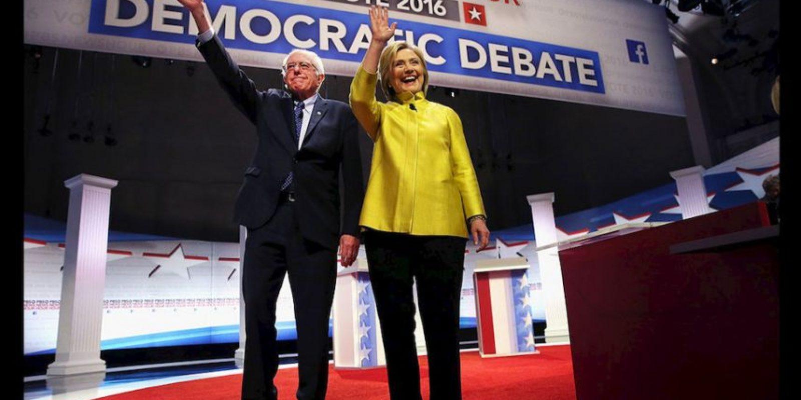 Hillary Clinton es la virtual candidata a la presidencia de Estados Unidos. Foto:Getty Images