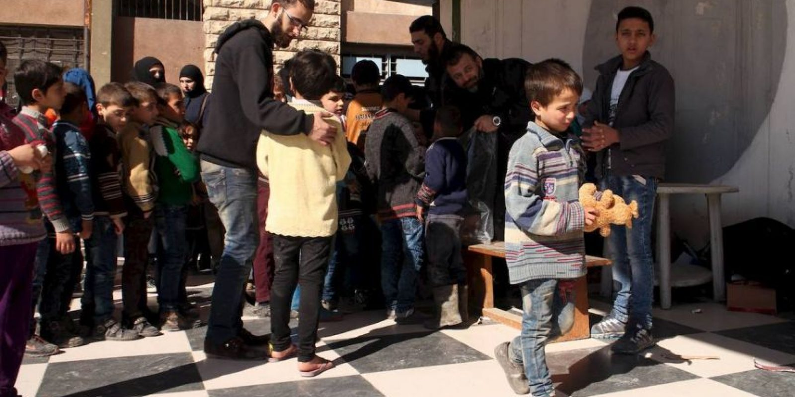 Y en campos de refugiados Foto:Facebook.com/ssyrelief