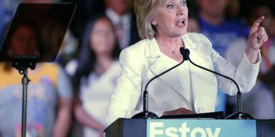 En esta convención Hillary Clinton ya hizo historia. Foto:Getty Images