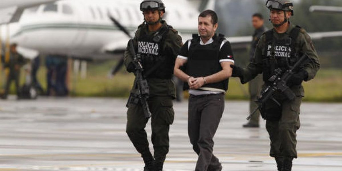 Capo colombiano se quemó huellas digitales para no ser capturado
