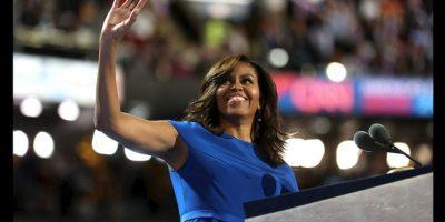 Michelle Obama ofreció un gran discurso sobre el tipo de país que quiere para sus hijas y las generaciones jóvenes. Foto:Getty Images