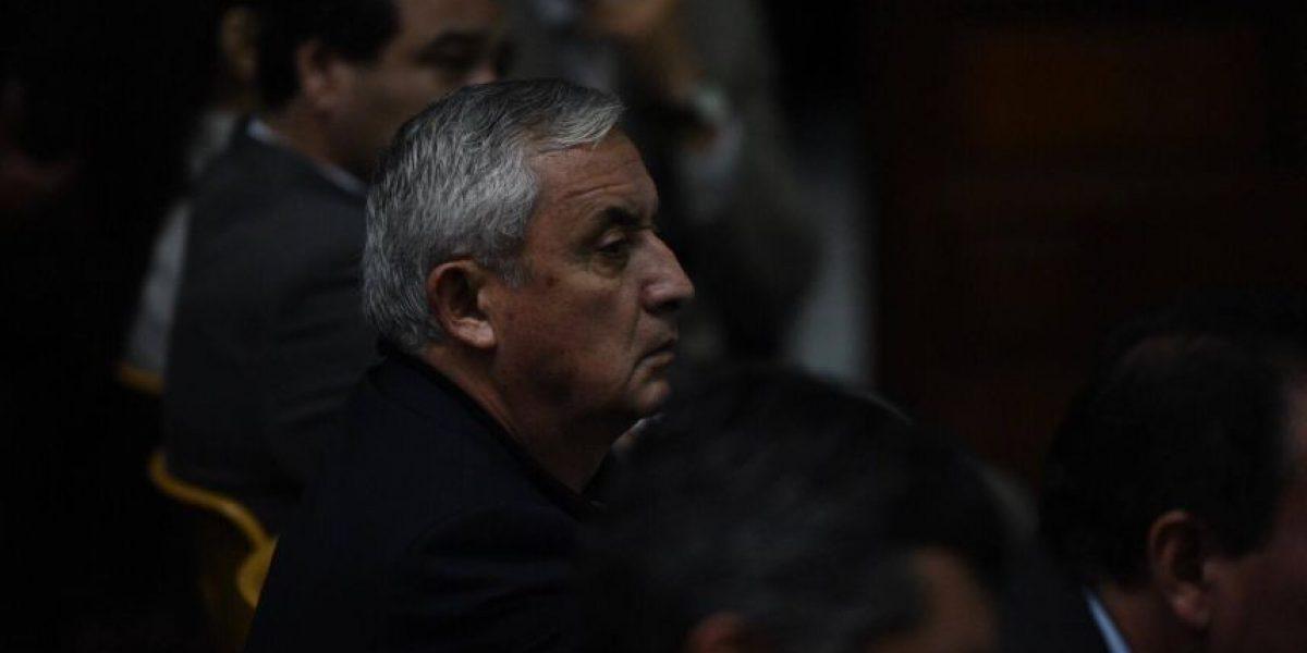 "Otto Pérez Molina: ""yo no esperaba que me dejaran afuera"""