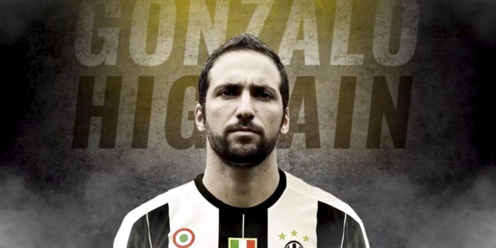 Gonzalo Higuaín es el gran fichaje de la Serie A y Juventus pagó 90 millones para contratarlo desde Napoli Foto:Twitter Juventus