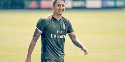Gianluca Lapadula es el gran fichaje de AC Milán Foto:Twitter AC Milán