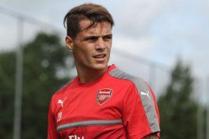 Granit Xhaka es el gran fichaje de Arsenal para la temporada 2016/2017 Foto:arsenal.com