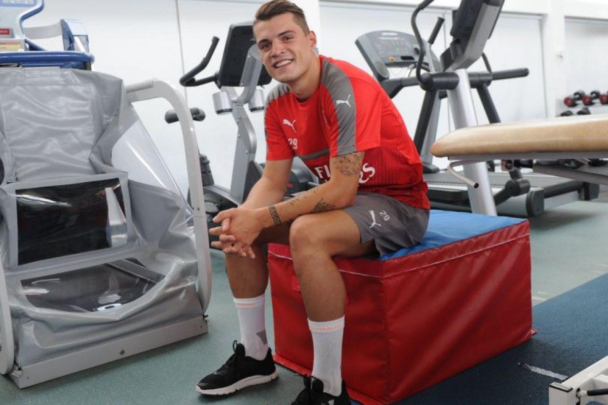 Si juega como canta, seguramente los hinchas de Arsenal no estarán nada de felices Foto:arsenal.com