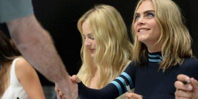 Margot Robbie y Cara Delevigne confiesan donde han tenido sexo