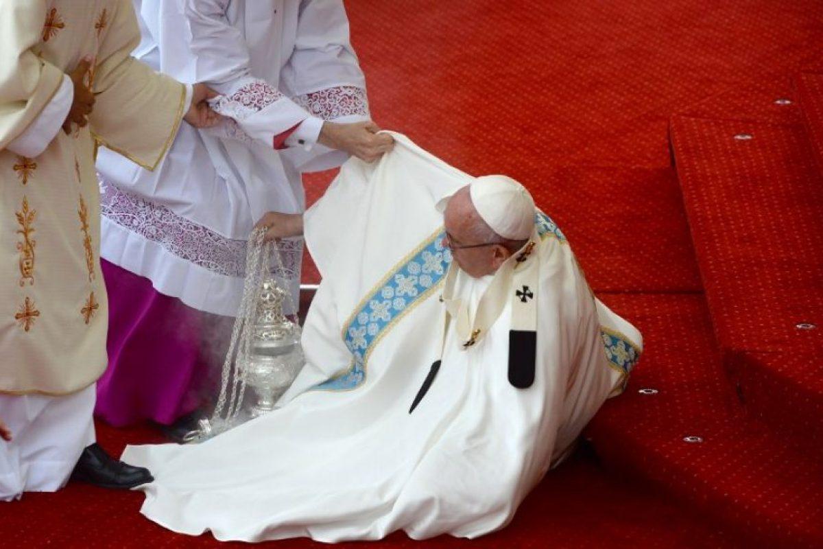 Sucedió en el santuario de Jasna Gora Foto:AFP