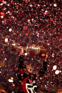 Sao Paulo tiene la misma cantidad de títulos. En tanto, Cruzeiro, Gremio e Internacional aportan con 2 coronas, mientras que Palmeiras, Flamengo, Vasco da Gama, Corinthians y Atlético Mineiro, tienen 1 título Foto:AFP