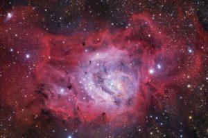 M8 Lagoon Nebula Foto:Ivan Eder – Insight Astronomy Photographer of the Year 2016