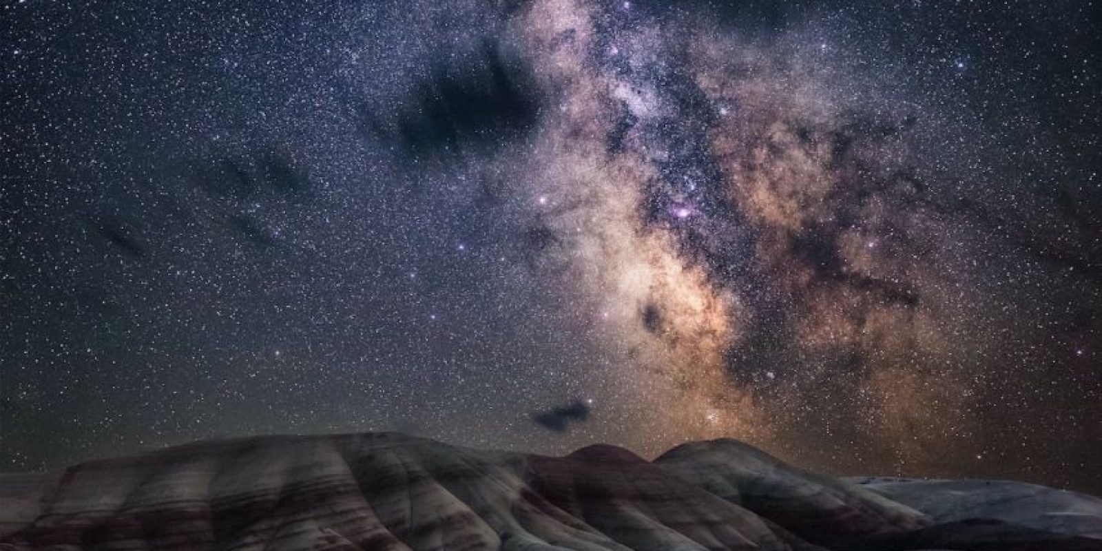 Painted Hills Foto: Nicholas Roemmelt – Insight Astronomy Photographer of the Year 2016