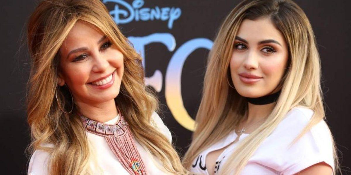 Su exhuberante figura le ayudó a la sexy hija de Myrka Dellanos estar en Televisa