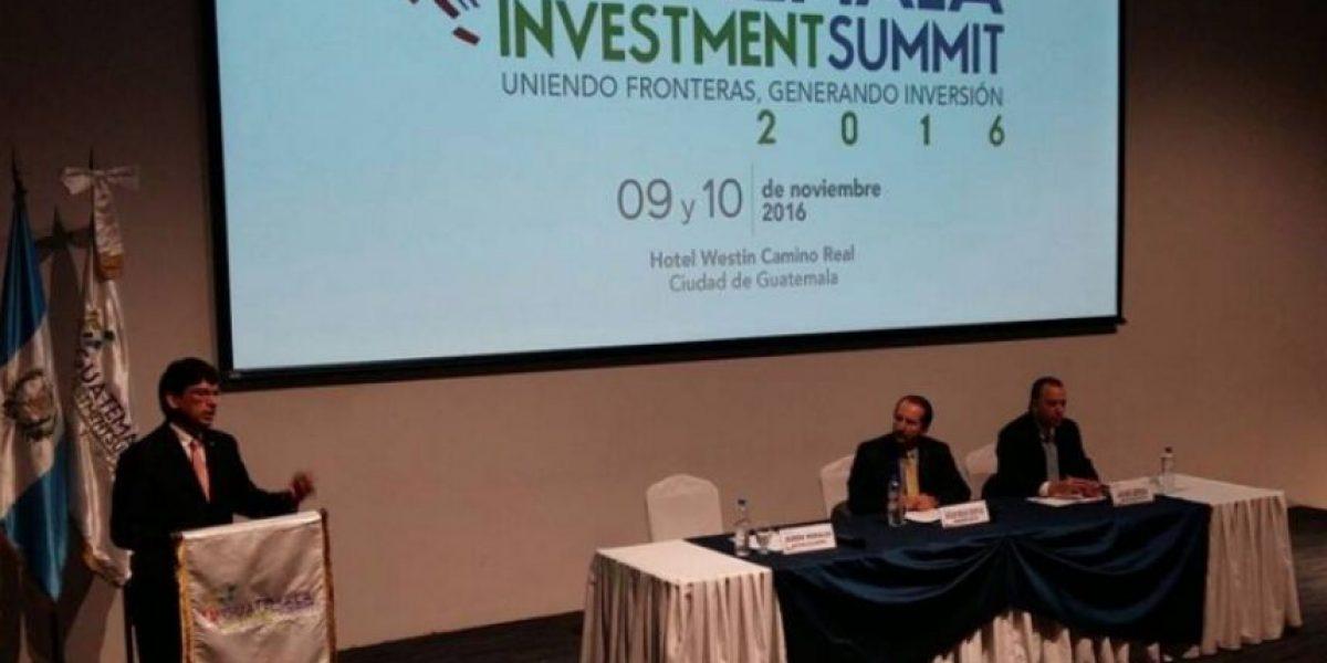 Guatemala buscará captar US$ 9 mil millones en inversión extranjera