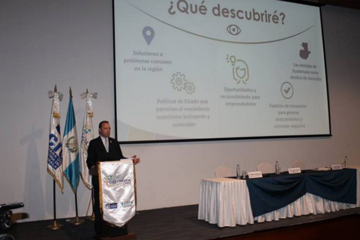Foto:Facebook de Guatemala Investment Summit 2016