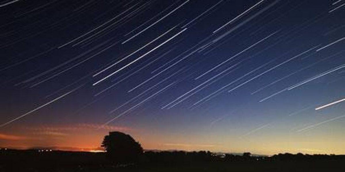 Hoy y mañana por la noche podrás observar lluvia de estrellas